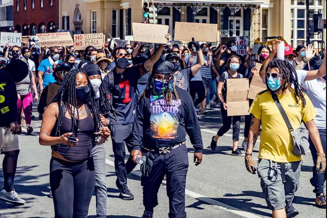 Marchers, George Floyd, Washington DC