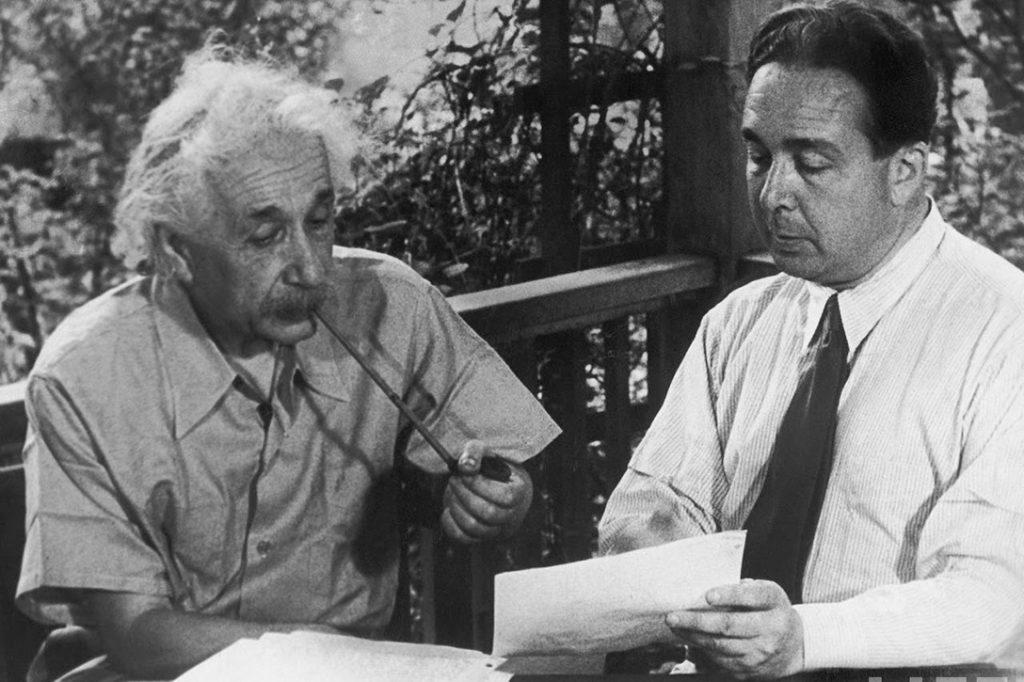 Albert Einstein, Leo Szilard