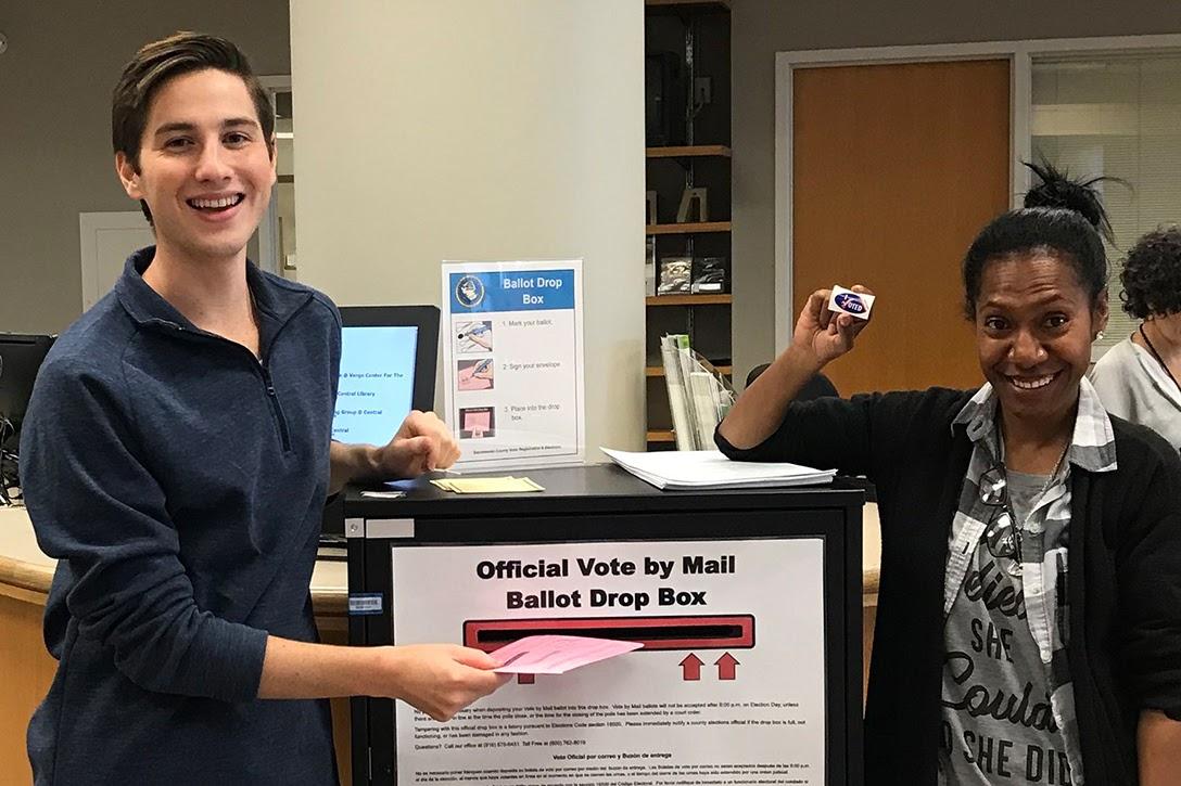 ballot, drop box, vote-by-mail