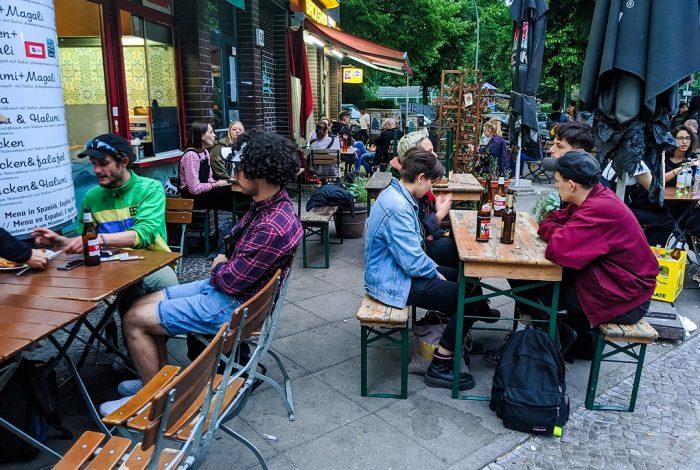 Berlin outdoor dining