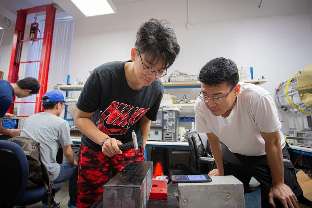 Chinese, students, University Houston