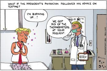 Donald Trump, COVID-19