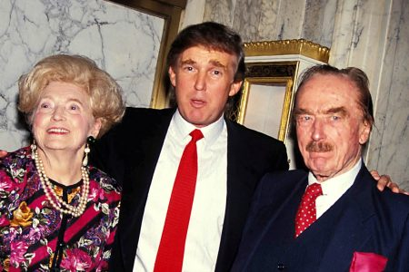 Mary Anne Trump, Donald Trump, and Fred Trump