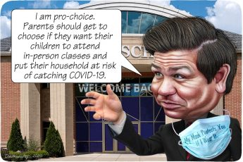 Ron DeSantis, schools, Florida, COVID-19