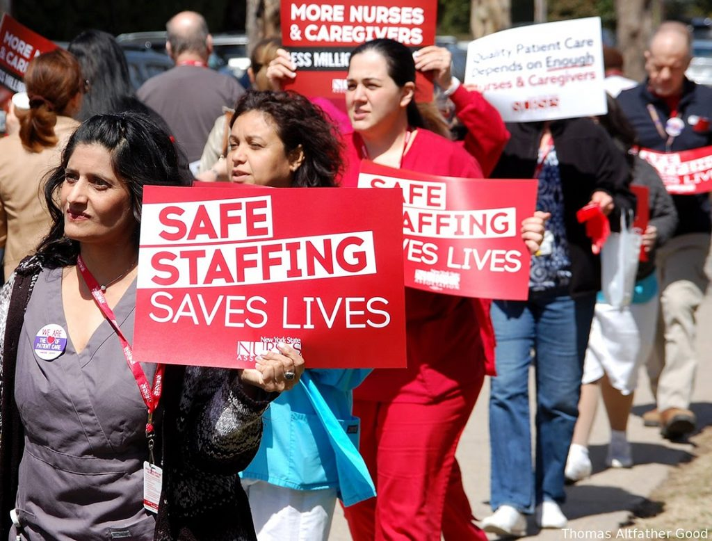 Safe Staffing Saves Lives, nurses