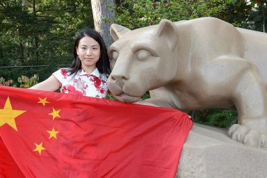 Chinese student, Penn State