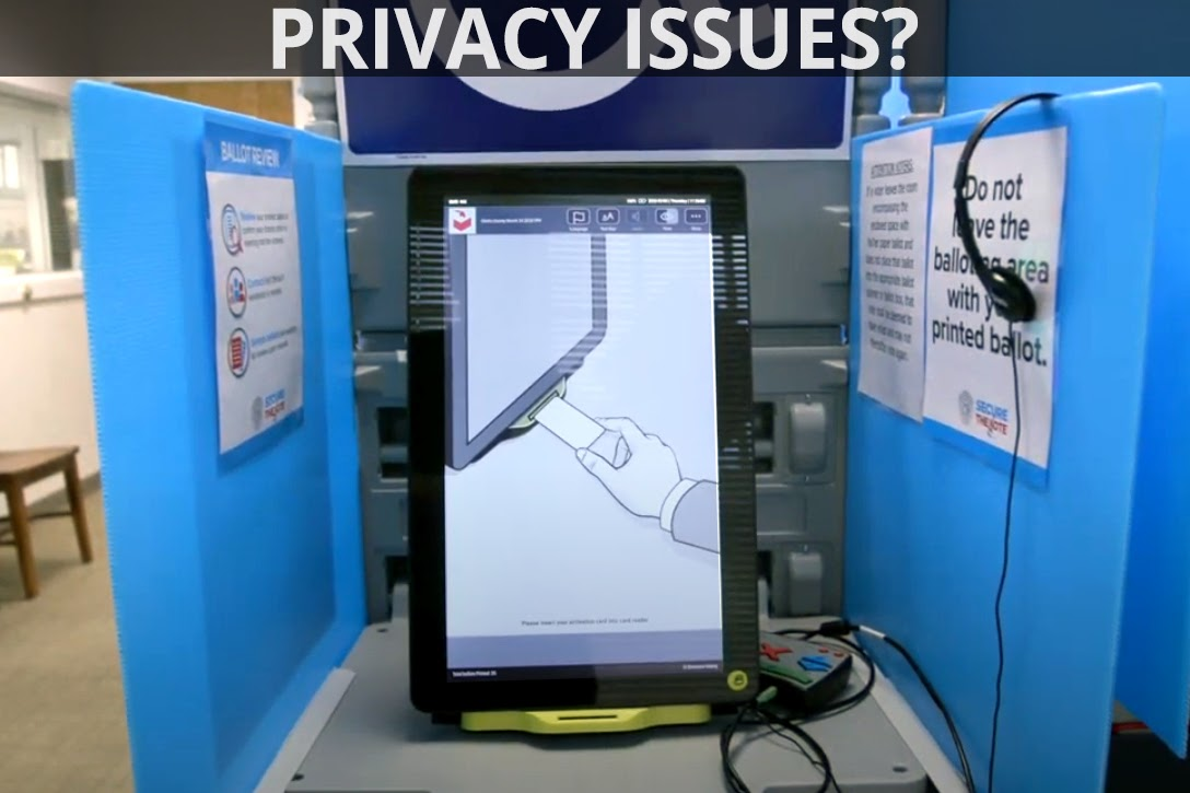voting booth, privacy