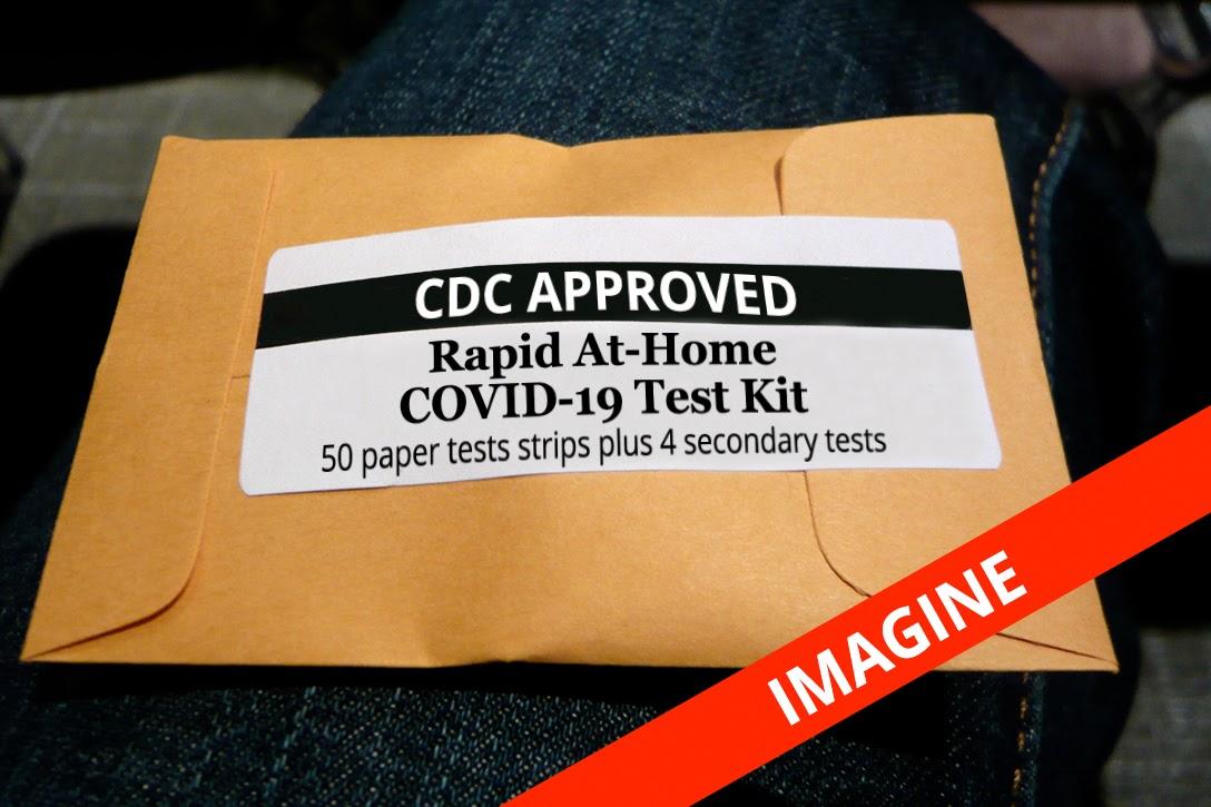 COVID-19, paper test strip, kit