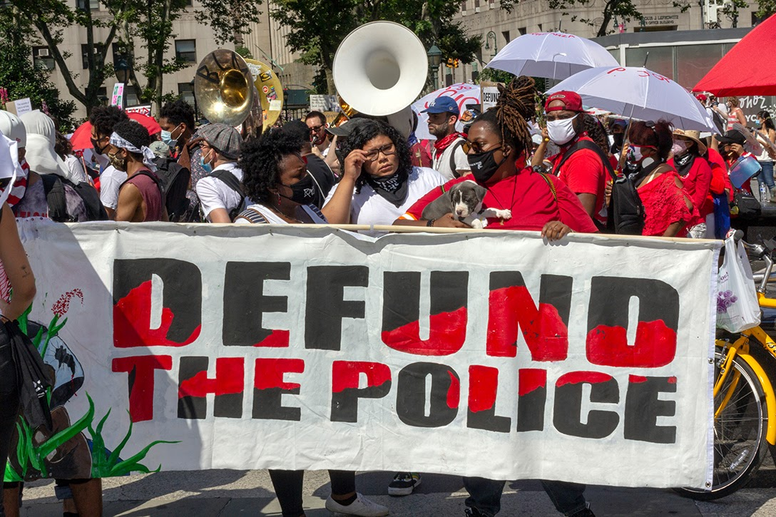 defund the police, NYC