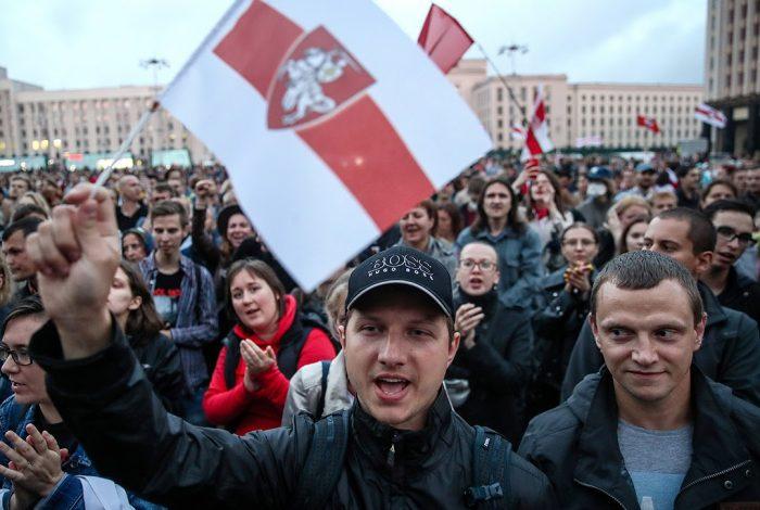 Protest, Belarus, President, Alexander Lukashenko