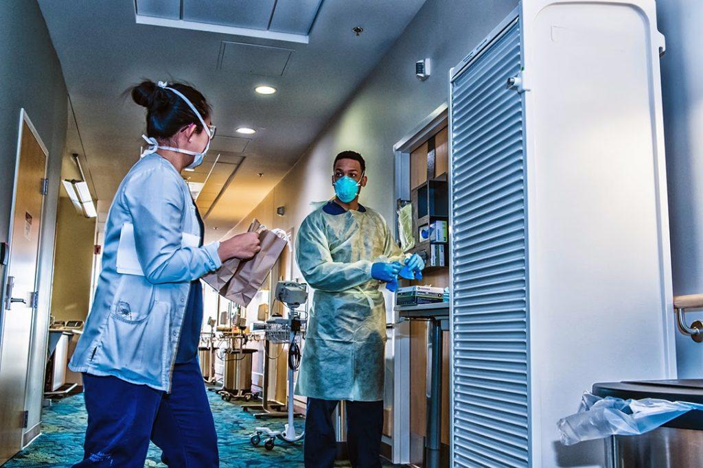 Belvoir Hospital, medical staff