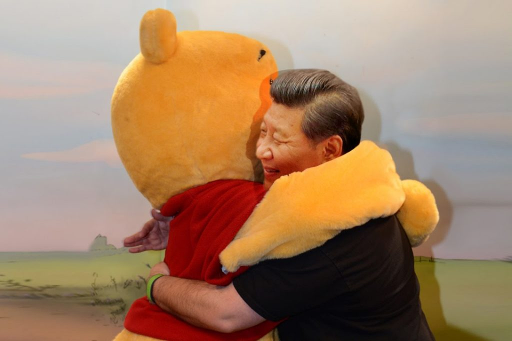 Chinese, President, Xi Jinping, Winnie the Pooh