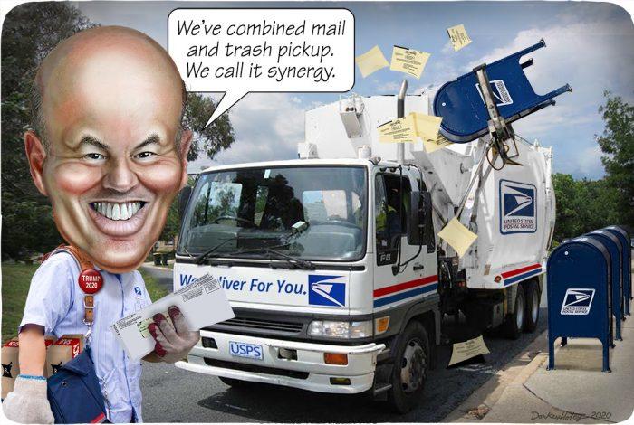 Louis DeJoy, US Post Office