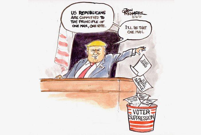 Donald Trump, Voter Suppression