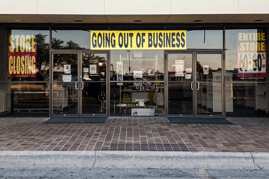 going out of business