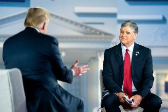 Donald Trump, Sean Hannity