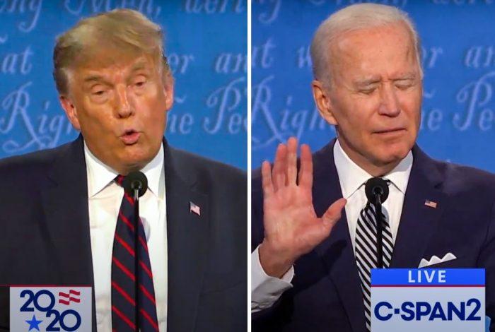Joe Biden, Donald Trump, 2020 Debate