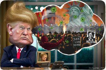 Donald Trump, COVID-19, climate change, BLM,