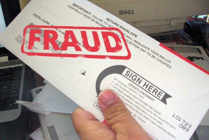 Mail-in Ballot, voter fraud