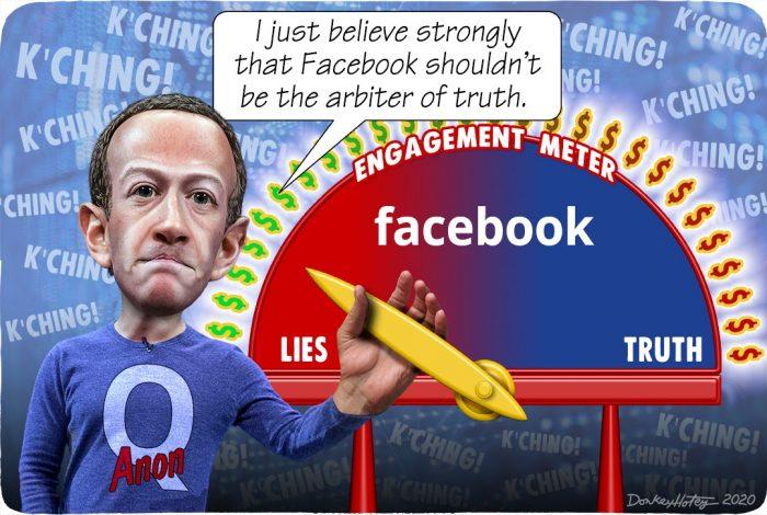 Mark Zuckerberg, Facebook, engagement