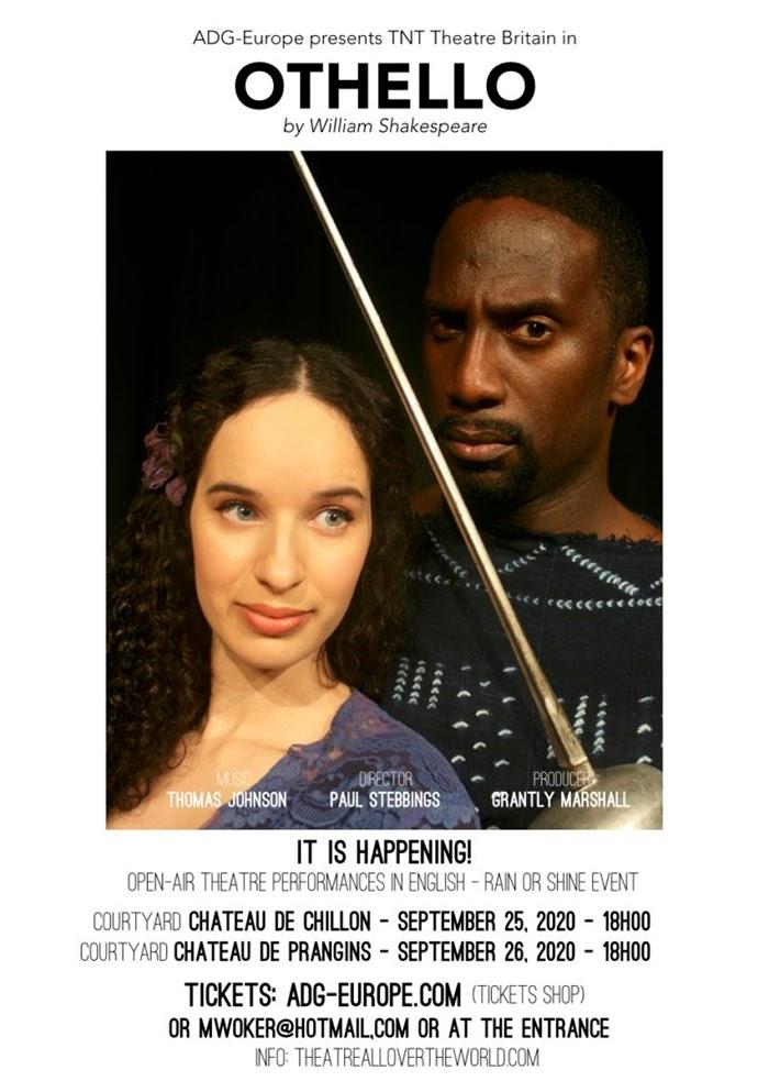 Poster, Othello, TNT Theatre