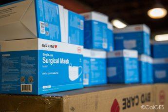 PPE, surgical masks