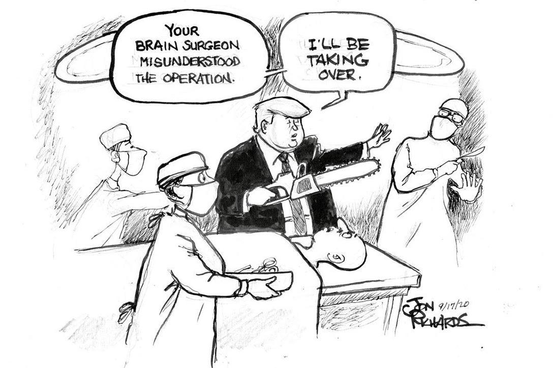 Donald Trump, brain surgeon