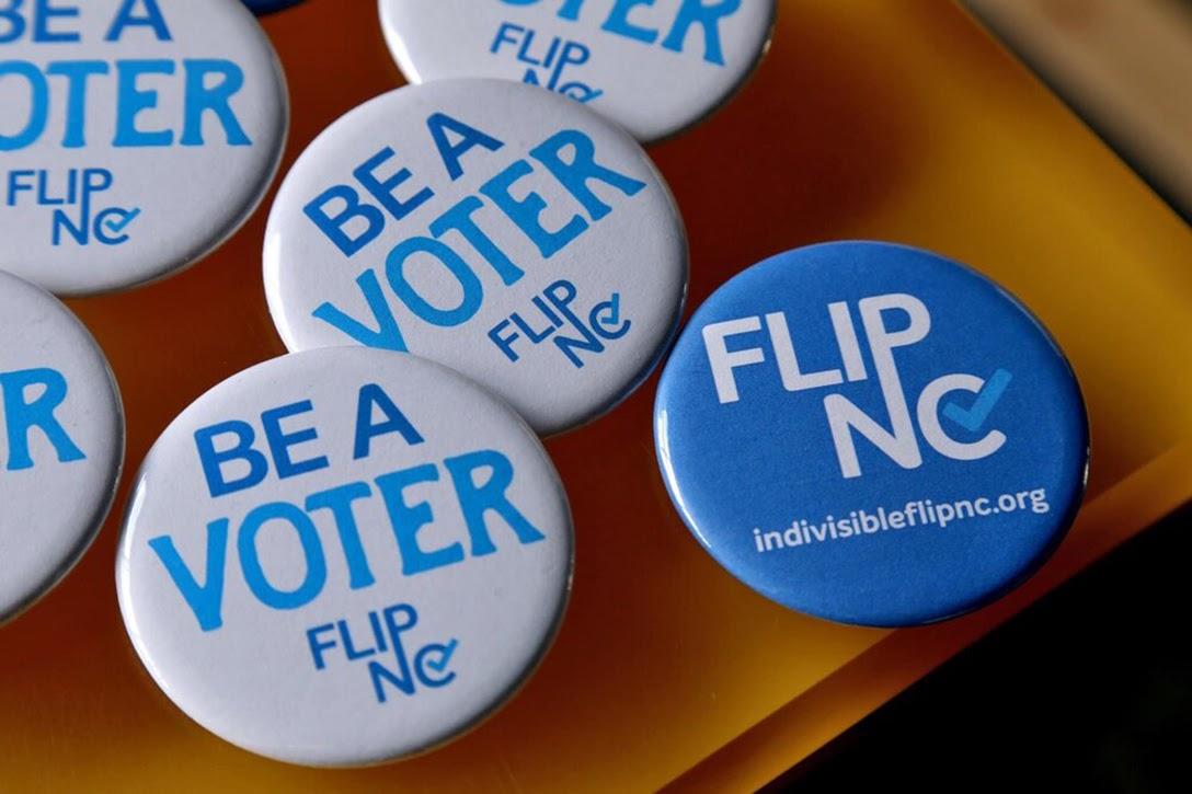 Be a voter, Flip NC, North Carolina