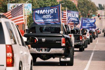 Donald Trump, Des Moines, parade