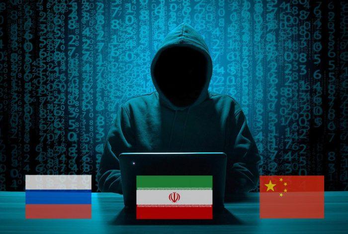 Hackers, Iran, Russia, China