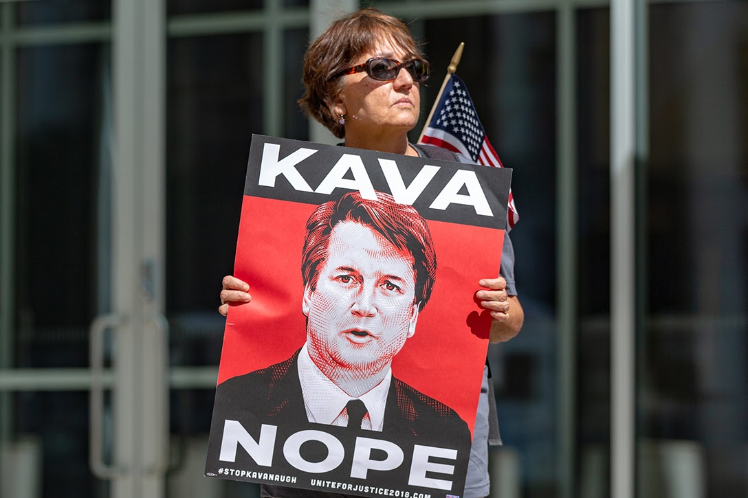 Brett Kavanaugh, protest