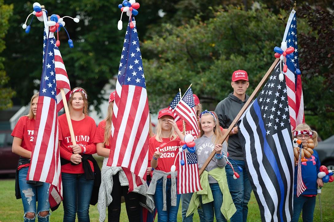 Trump supporters, Minnesota