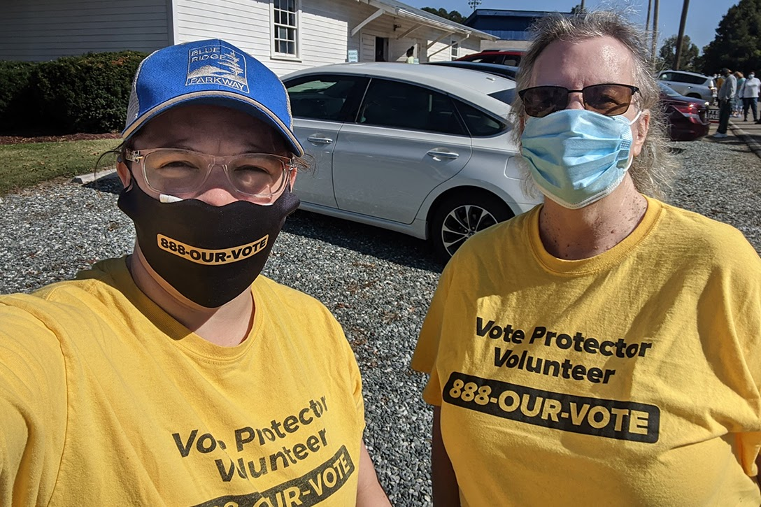 North Carolina, Vote Protectors