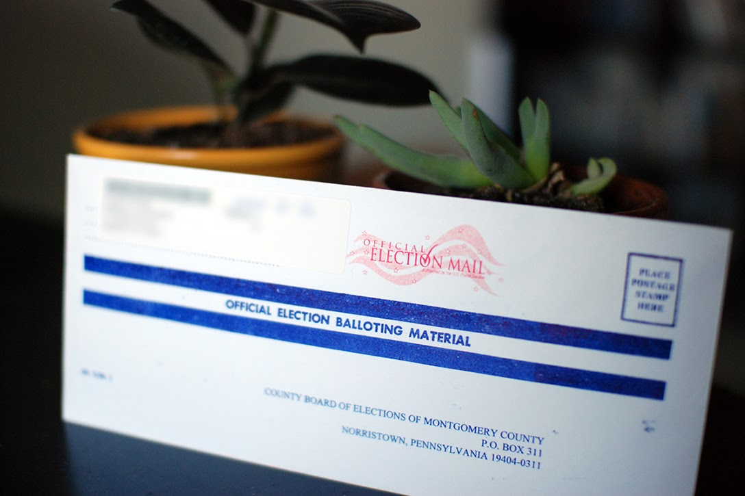 Pennsylvania, mail-in ballot