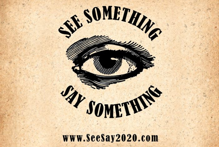 See Something Say Something, SeeSay2020