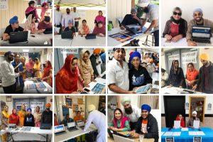 Sikh, voter registration.