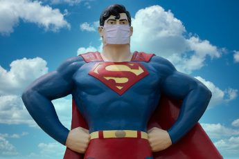 Supermen, mask
