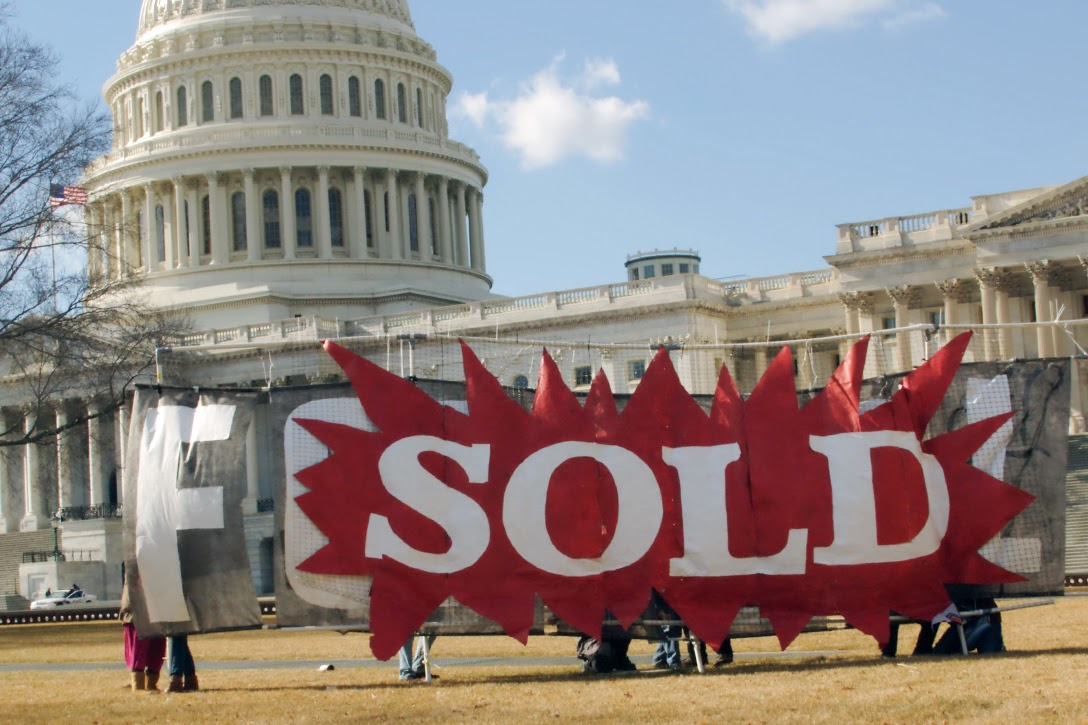 US Capitol, sold