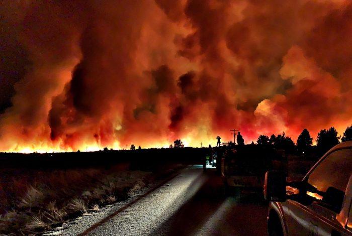California wildfires, solar power, reduced