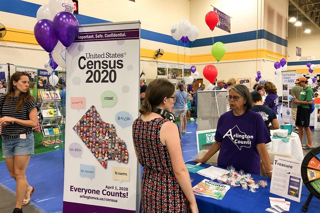 2020 Census, Arlington County