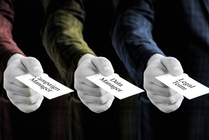 campaign team, cards