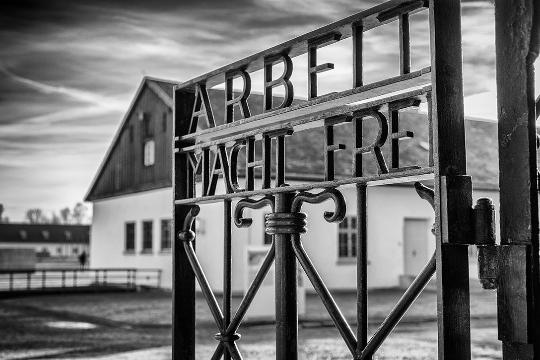 Dachau, concentration camp, gate