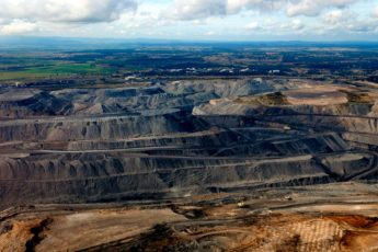 mining, scarred Earth, transformation, natural world