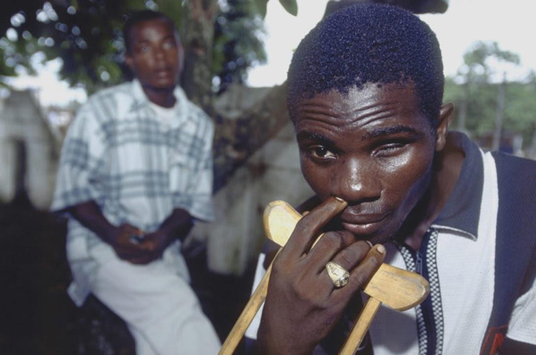 A victim of Liberia's dragging civil wars