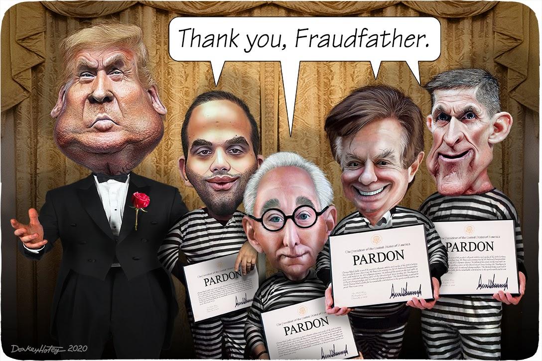 Donald Trump, Michael Flynn, Paul Manafort, Roger Stone, George Papadopoulos