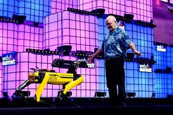 AI, robotics, Boston Dynamics, innovative New Year celebration