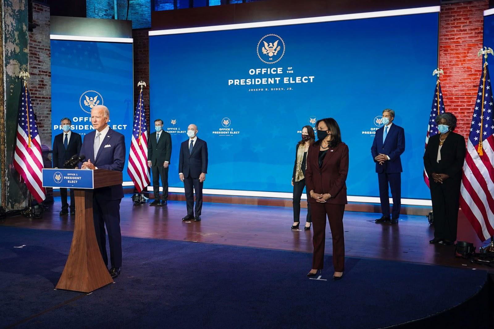 Joe Biden, transition