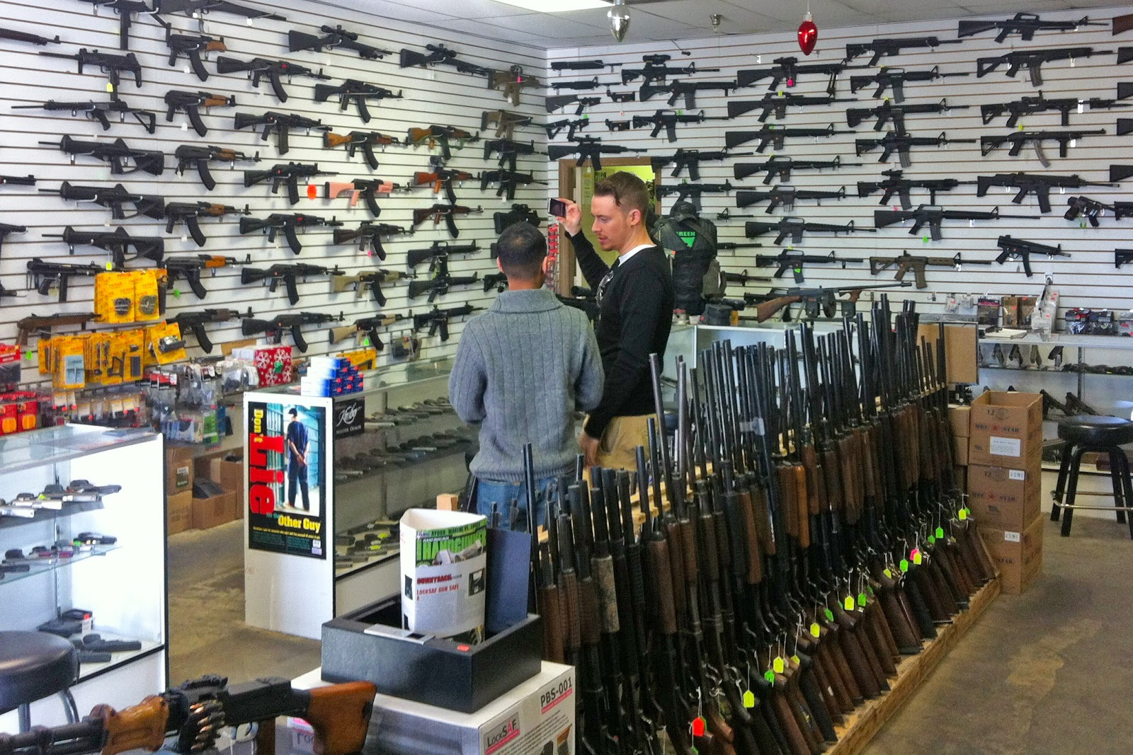 gun shop, Las Vegas