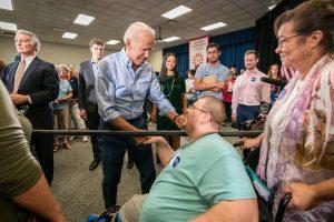 Joe Biden, Disabilities
