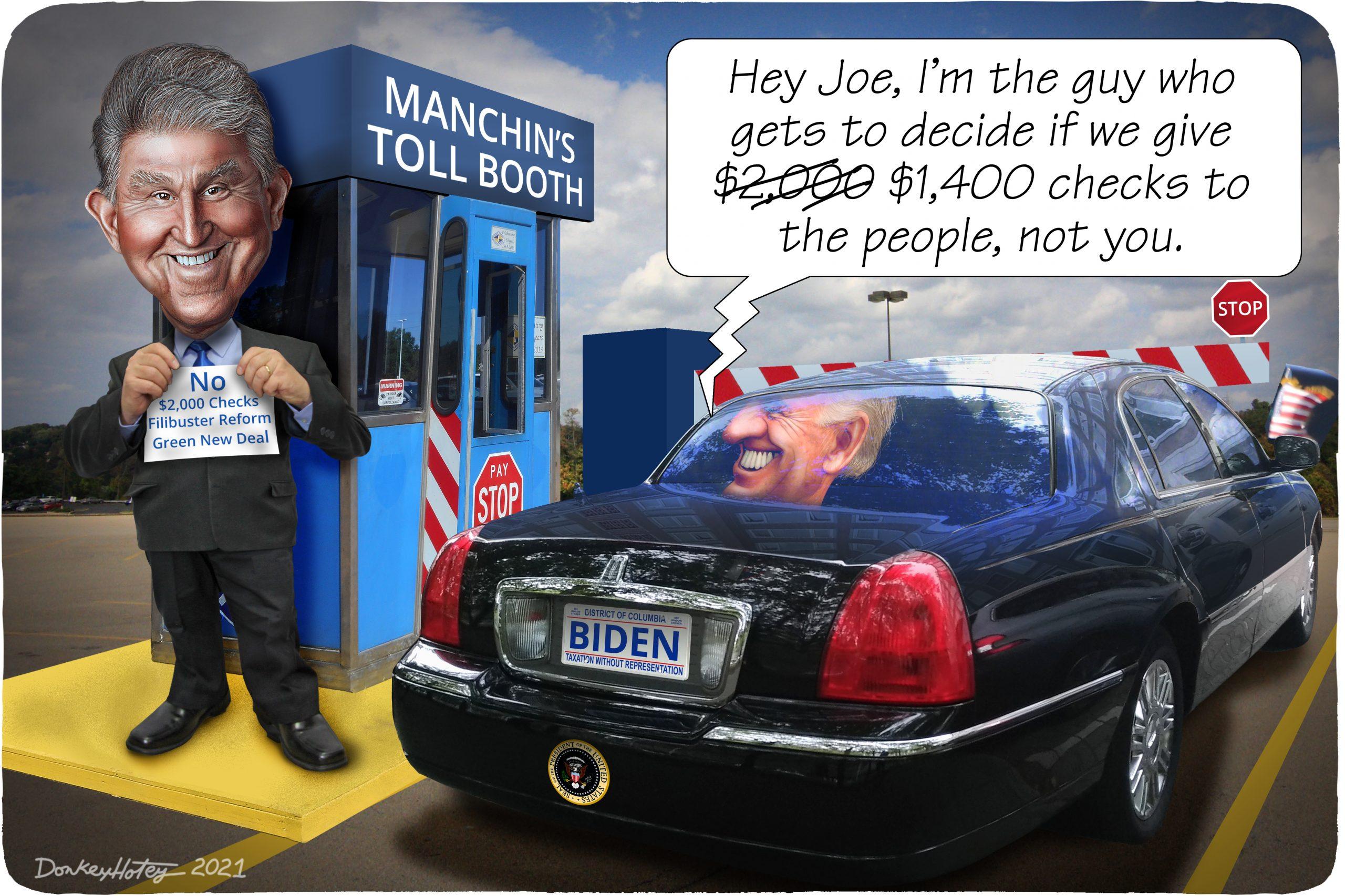 Joe Manchin, Joe Biden